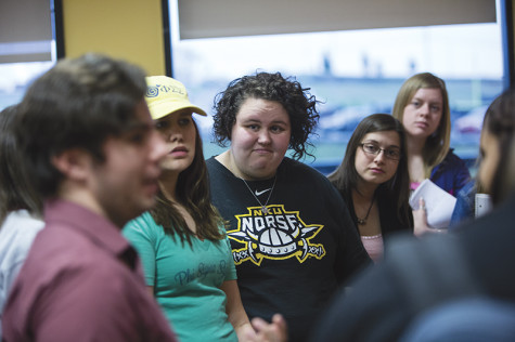 Student Erin Edwards expressed displeasement with how NKU stands compared to other local universities.