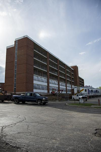 New residence hall adds creative twist to on-campus living