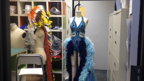 One of the Lady of the Lake costumes from Spamalot.