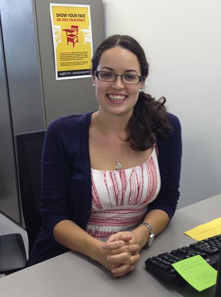 Lisa Koenig is the newest hall director in University Suites.