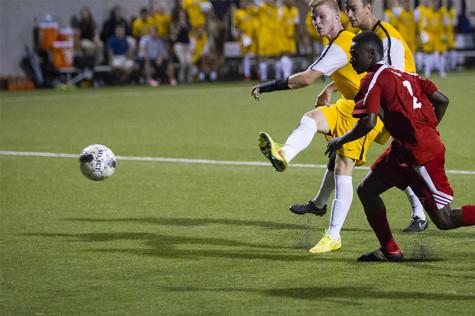NKU, Oakland men's soccer battle to 1-1 draw