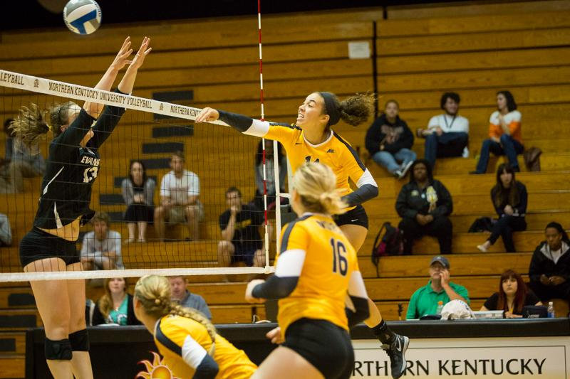 NKU's Keely Creamer was selected to the all tournament team after her performance in the Indiana Invitational.