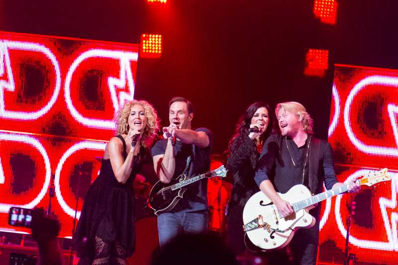 Little Big Town performs at the BOKC. The band performed at the BOKC on Nov. 9, 2014.