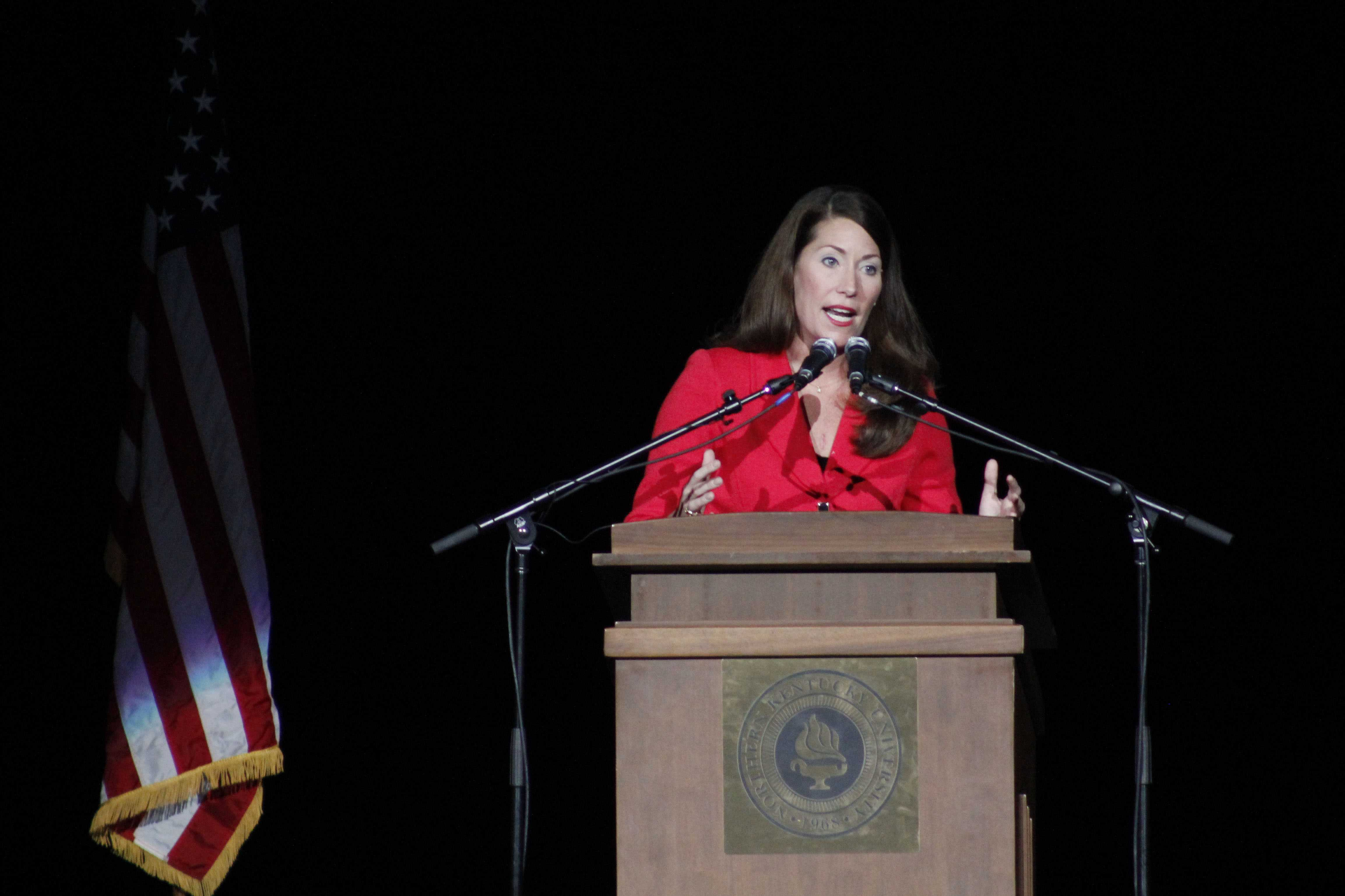 Alison+Grimes+discusses+Mitch+McConnell%27s+experience+as+a+longstanding+Kentucky+senator.+She+said+he+longer+represents+Kentuckians+the+way+they+deserve+and+that+it%27s+time+for+change.