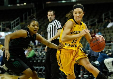 Christine Roush during the game against Stetson in 2013-14 season.