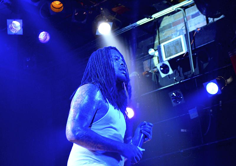 Waka Flaka Flame took the stage at Bogarts for his Halloween performance.
