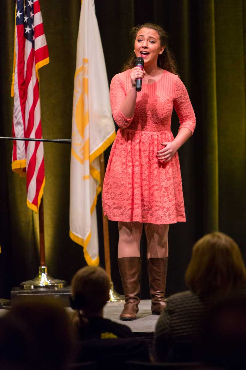 NKU+student+sang+during+President+Mearns%27+2015+Spring+Convocation.+President+Mearns+spoke+about+the+past+year+and+the+upcoming+year+in+the+Student+Union+Ballroom+on+Friday%2C+Jan.+9%2C+2015.