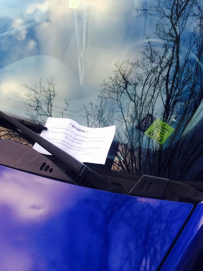 NKU students currently receive a warning for not having a parking pass during the first two weeks of classes. SGA hopes to extend that period to three weeks.