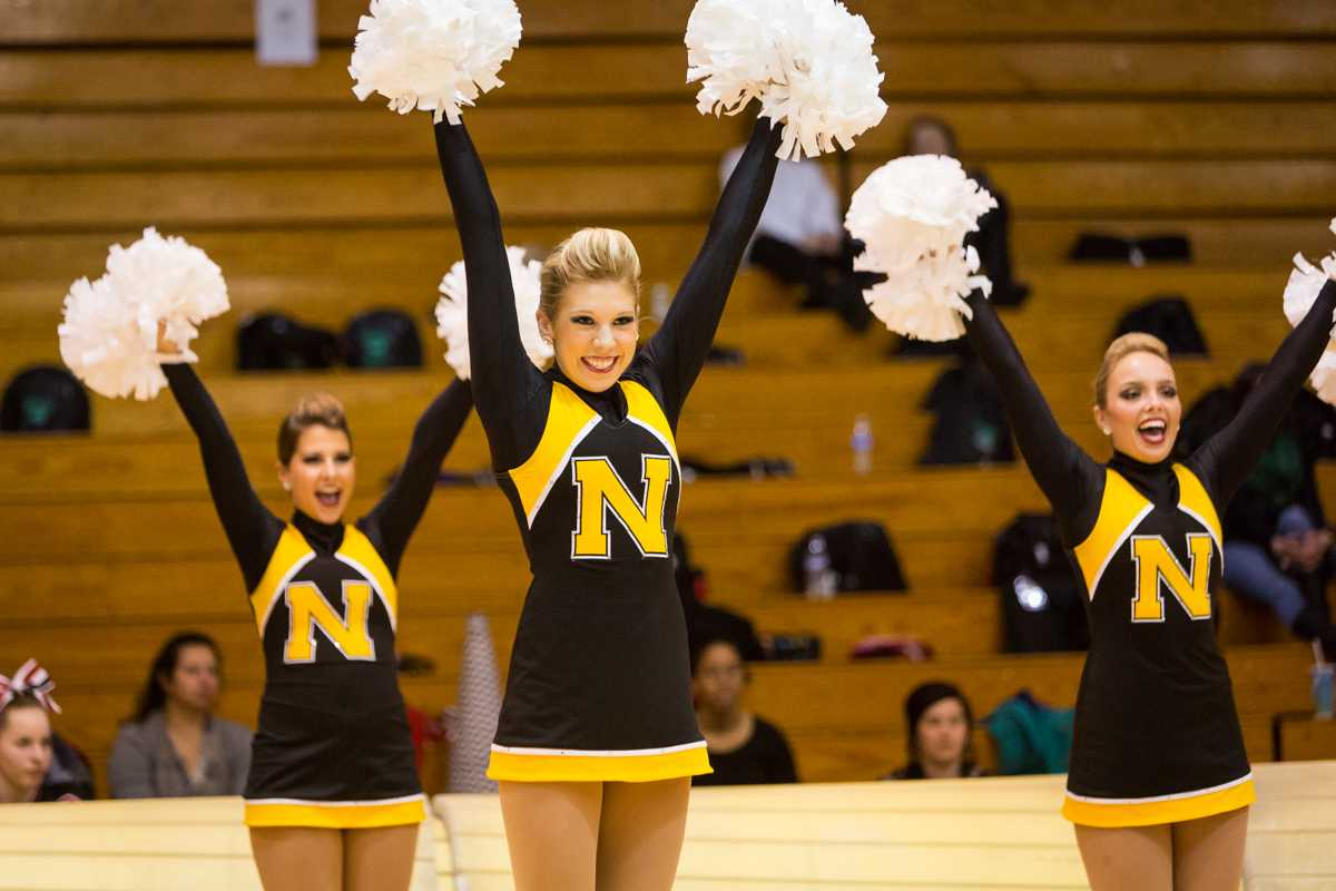 NKU Dance competed in NKU's Cheer and Dance Showcase to fundraise for their trip to nationals competition. NKU competed on Jan. 12, 2015 in Regents Hall on NKU Campus in their Cheer and Dance Showcase.