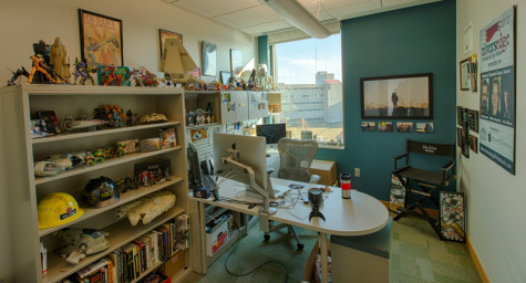 Toy collection has home in professor's office