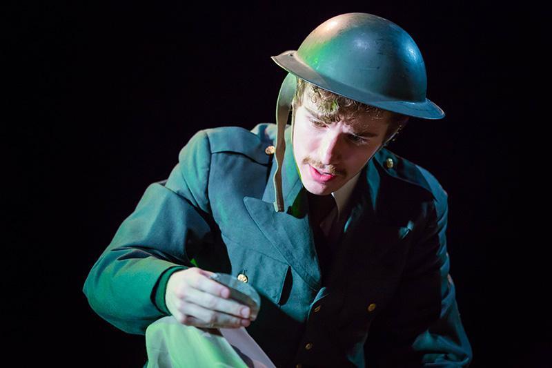 Hunter  Henrickson in 'Encore, Encore.'