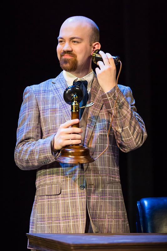 Chandler Taylor in 'Encore, Encore.'