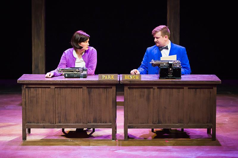 Victoria Hawley and Connor Moulton in 'Encore, Encore.'