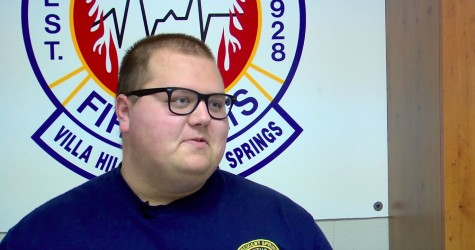 NKU student finds inspiration in fire fighting VIDEO