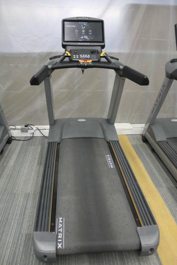 New treadmills in the rec center offer a variety of information about your workout, allow you to go on run through virtual realities and more.