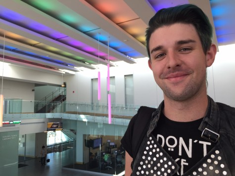 Josh Newman identifies in the LGBTQ community. National Coming Out Day was Oct. 11 this year.