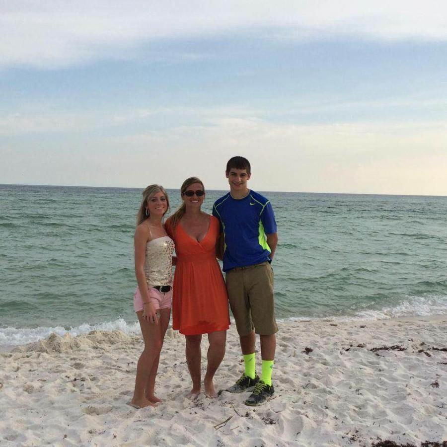 Bonnie's son Kyle is still in high school while her daughter, Alyssa attends NKU. They take vacations together with Bonnie and her partner, Katie.