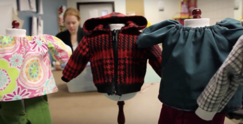 VIDEO: Class makes costumes for charity