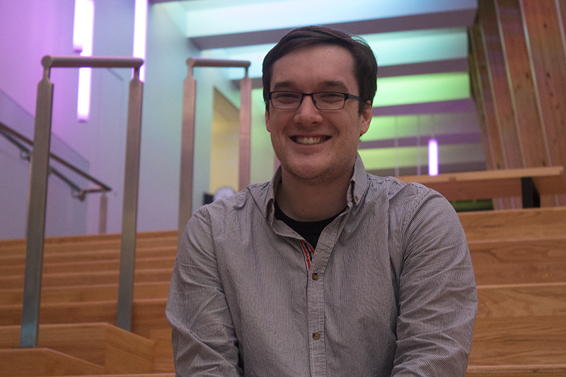 Branden Middendorf is one of the creators of the Game Jam event. He is a former NKU student.
