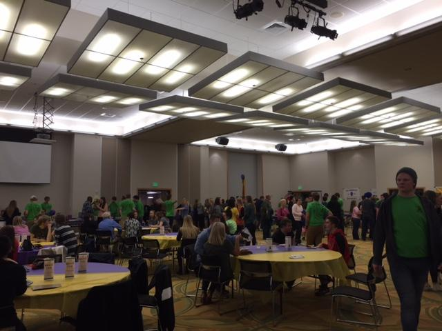Students and members of the community joined in on the fun. ATO's annual event Mardi Taus took place on Saturday, Feb. 27.