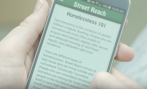 VIDEO: App aims to help the homeless