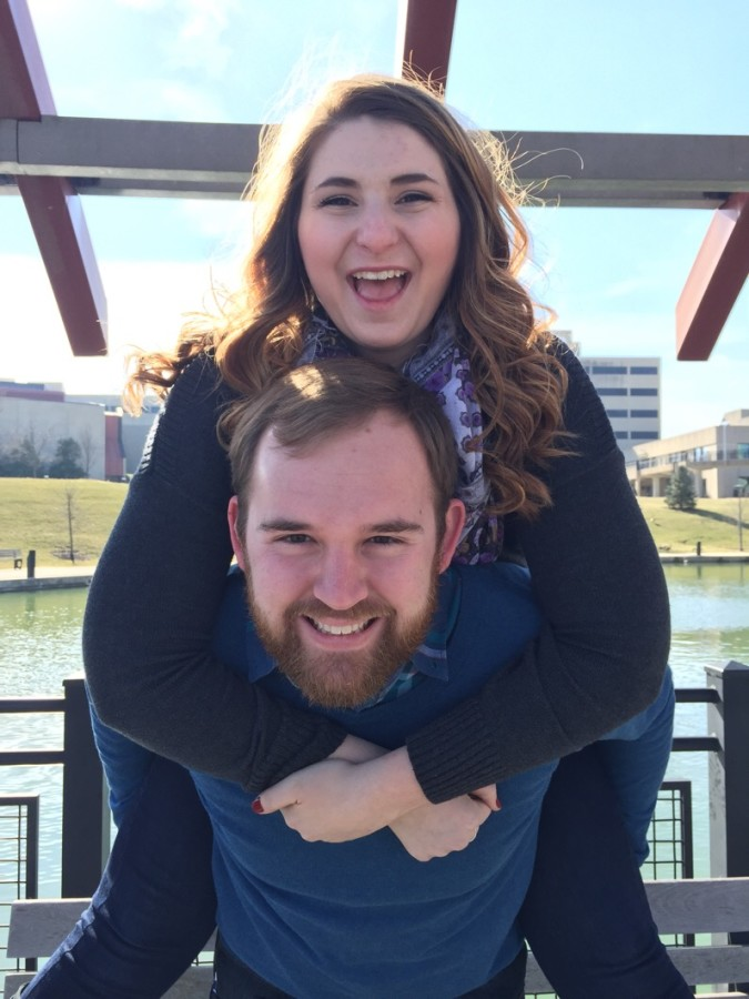 Nicole Hudson and Danny Hagedorn plan to marry this September. Hagedorn is a graduate of NKU while Hudson is still a student.