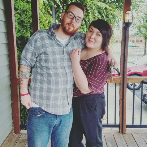 Ally and Brandon met each other early last year on Tinder. In September of last year, they got married.