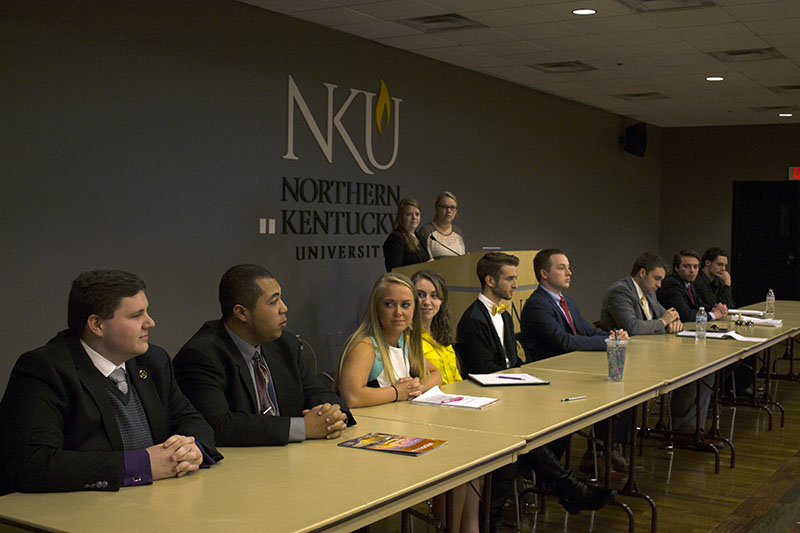 Presidential and vice presidential candidates addressed student concerns at the annual presidential debate on March 29. Students can vote March 30 and 31.