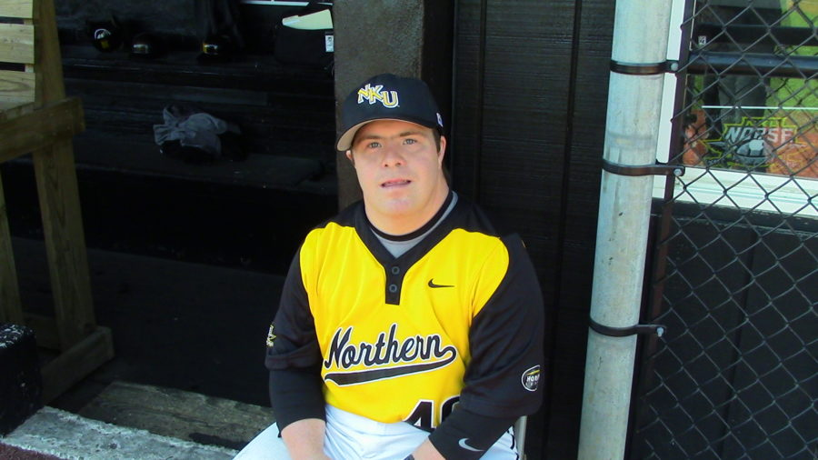 Ryan Mauriplis is the team manager for the NKU baseball team.