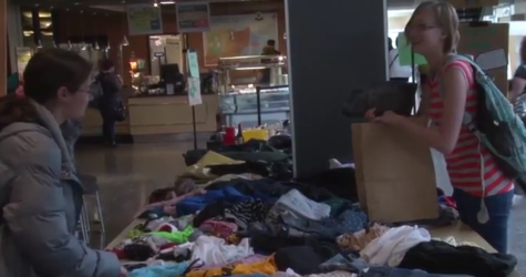 VIDEO: Students get thrifty