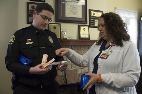 University police officers equipped with naloxone