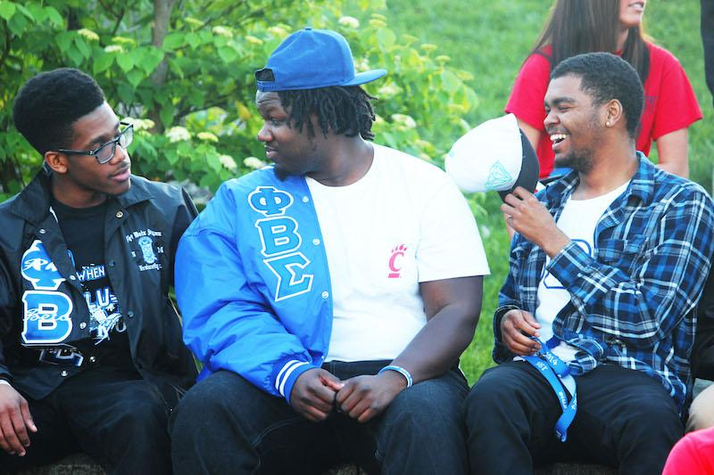 Northern Kentucky University and University of Cincinnati Phi Beta Sigma Fraternity unites to perform together at this year's yard show.