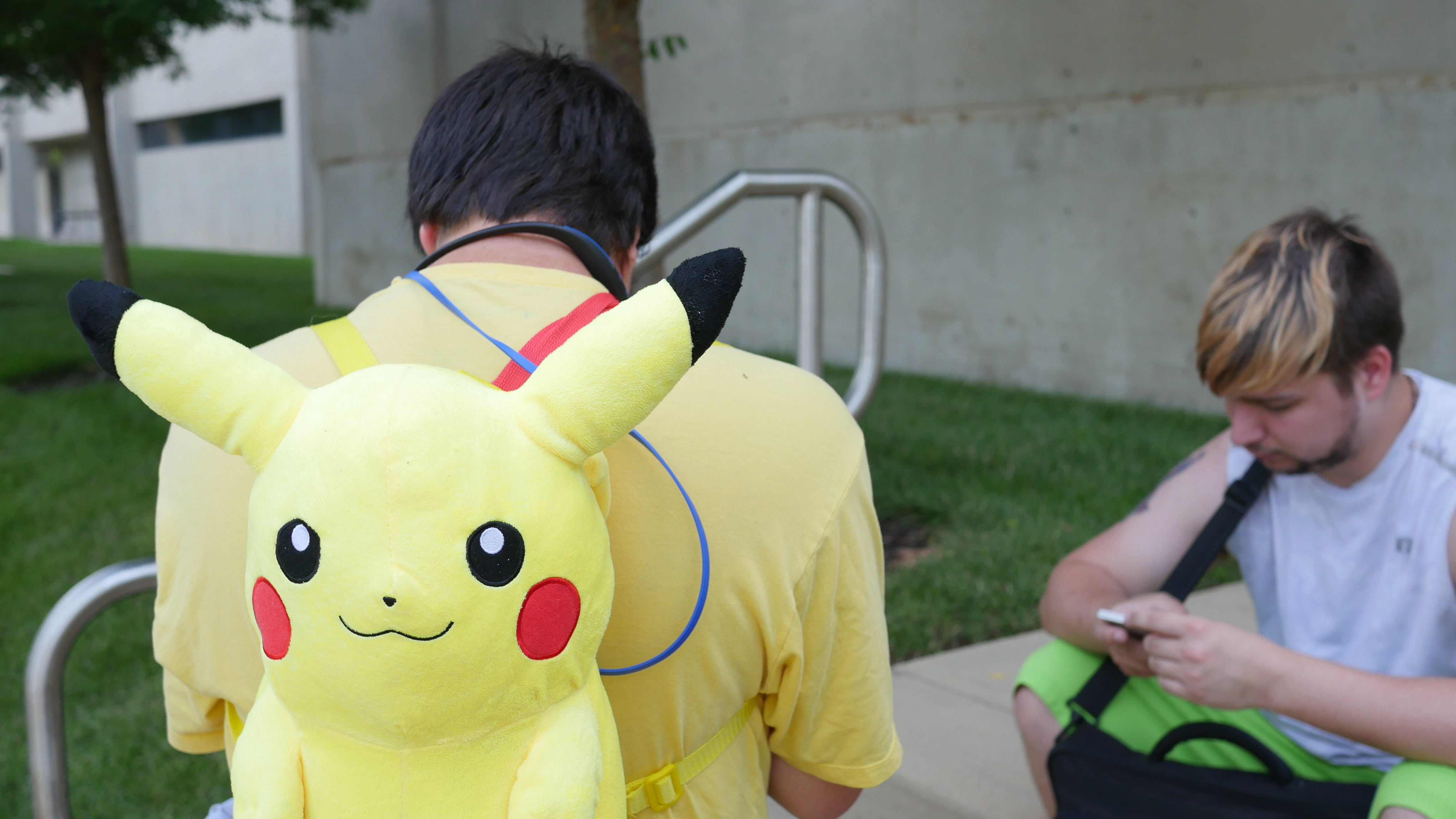 Competitors sported their favorite Pokemon gear on Tuesday night.