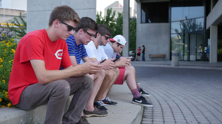 With 20 Pokestops at NKU, players are able to replenish their supply of Pokeballs.