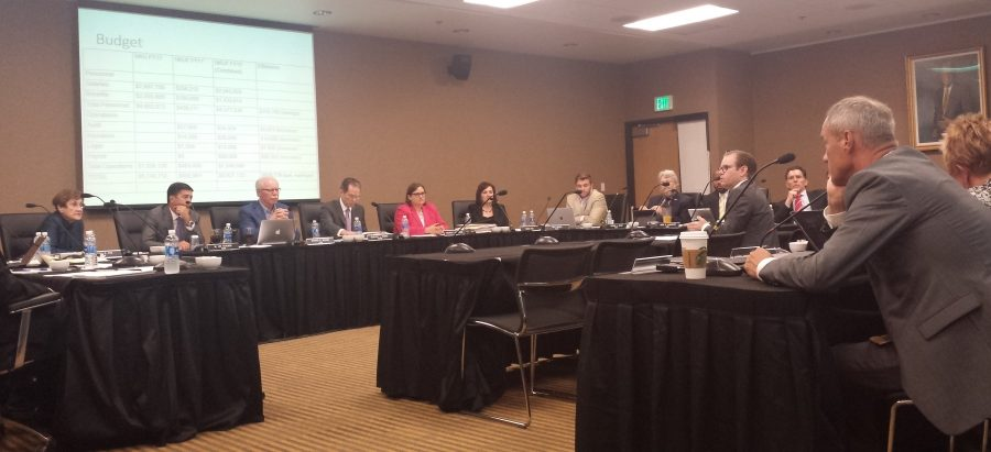 The+Board+of+Regents+meeting+was+held+on+September+8.+The+board+addressed+several+issues+currently+on+the+campus+community%27s+minds.+