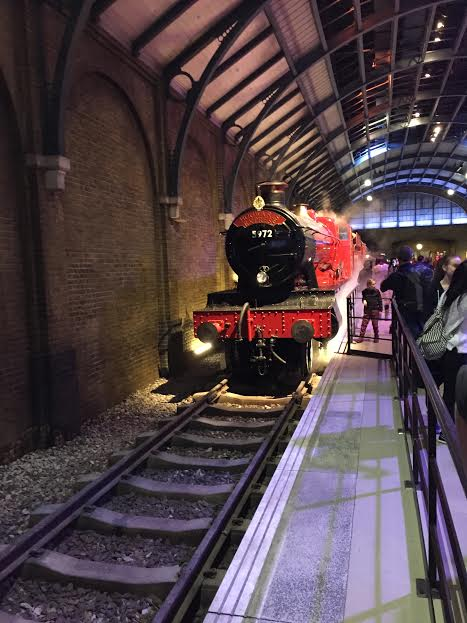 Students witness many iconic things from the wizard world firsthand, like the school's magical Hogwarts Express.