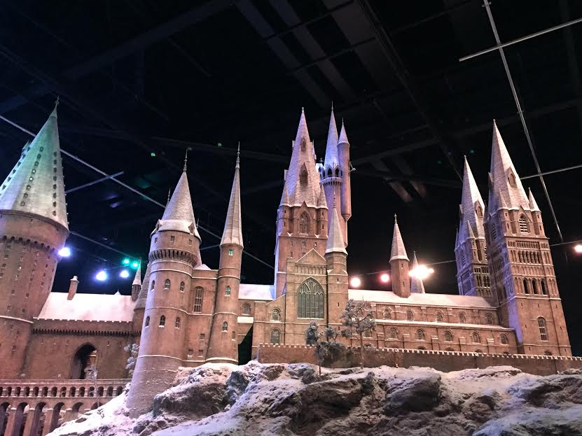 Students will get to see the enormous model of Hogwarts that was created for the films during their visit to the Warner Brothers Studio where the movies were created.