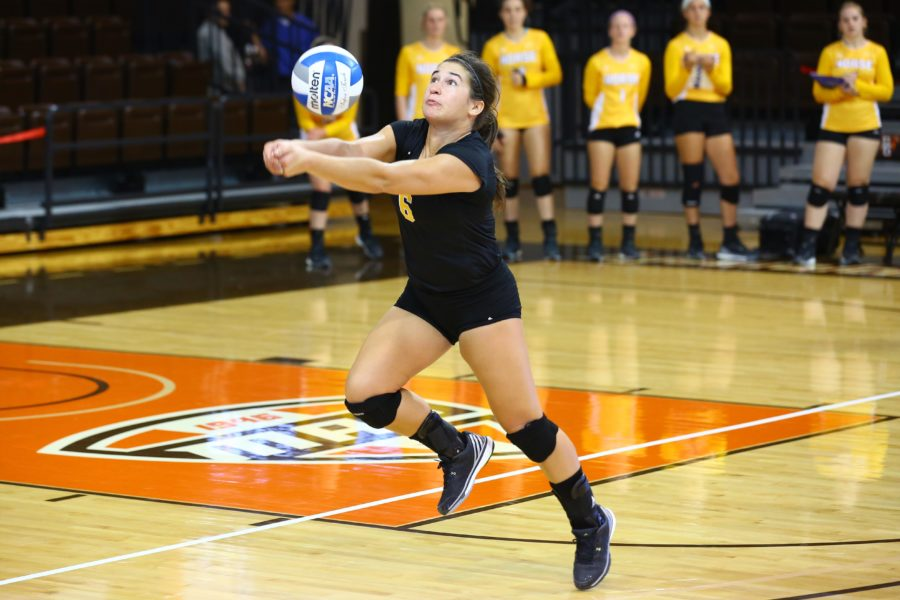 Lauren Hurley was named Most Valuable Player of the Morehead Invitational and lead the Norse to three straight victories in the tournament