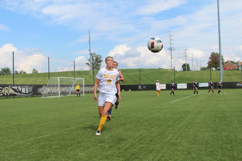 Ally Perkins and the NKU Norse beat Robert Morris 2-0 Sunday afternoon at the NKU Soccer Stadium.