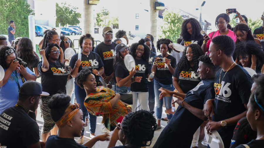 The Midwest African Student Organization Conference brought together various groups to discuss cultural issues.