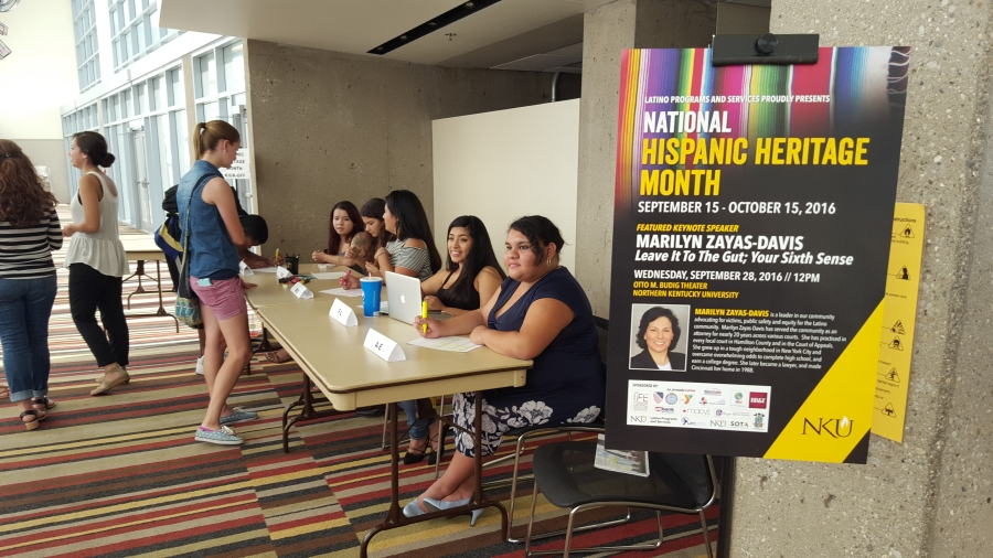 Latino Programs and Services will kick-off their annual celebration of National Hispanic Heritage Month on Thursday, Sept. 14.