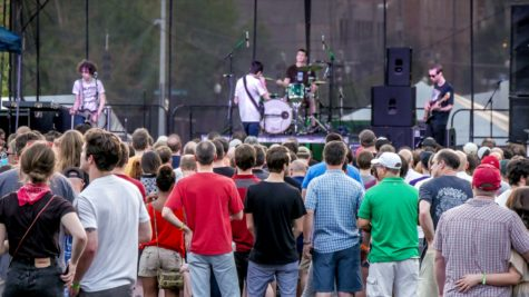 75 bands performed at Midpoint Music Festival in total. On Saturday, Car Seat Headrest performed.