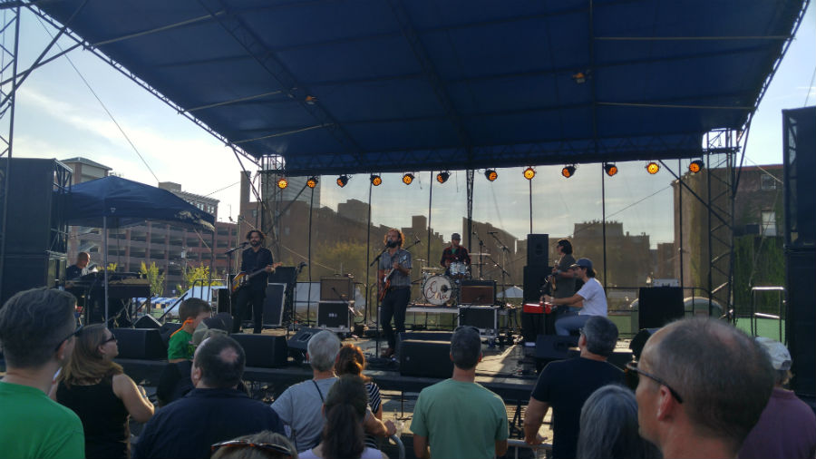 Huntington hard rockers Ona put on an incredible performance for their fans at the WNKU stage at MidPoint Music Festival this year.