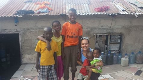 Averbeck felt going to Tanzania was an amazing learning moment and she got to get out of her comfort zone.