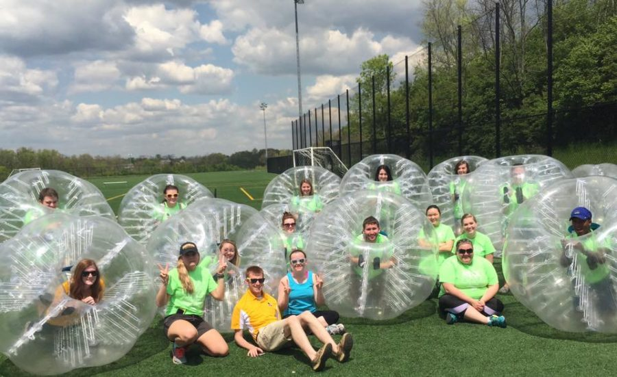 The Activities Programming Board is hosting a Zorb Ball tournament on Saturday Sept. 17 at 11:00 a.m. in the Intramural Fields.