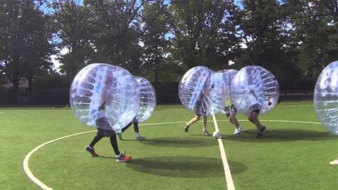 Get the ball rolling: Zorbing tournament