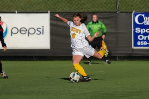 Shawna Zaken scored the only Norse goal in a 1-1 draw with Detroit Mercy Saturday afternoon.