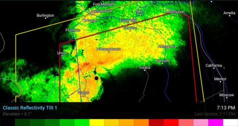 Tornado Warning for NKU campus expires