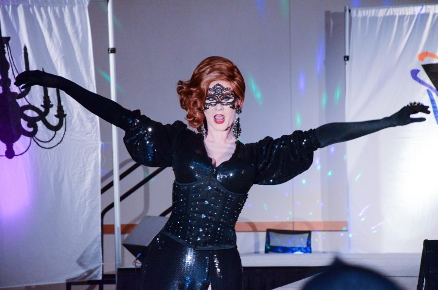 Masqueerade, a drag show held by NKU Common Ground, brought together drag queens, kings and the campus community for an evening of fun.