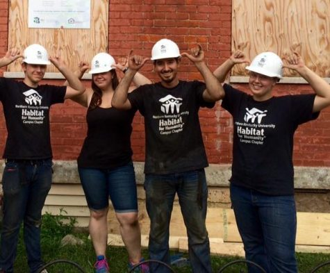 Members of NKU's Habitat for Humanity say one of the greatest rewards is giving back to the community.